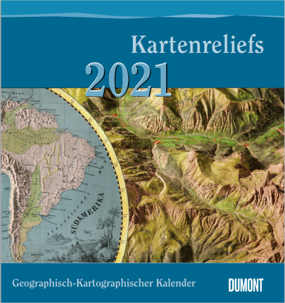 Cover of the Cartographic Calendar 2021