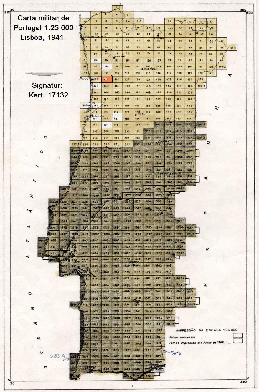 mapa militar portugal Topo Liste | Kartenabteilung | Staatsbibliothek zu Berlin mapa militar portugal