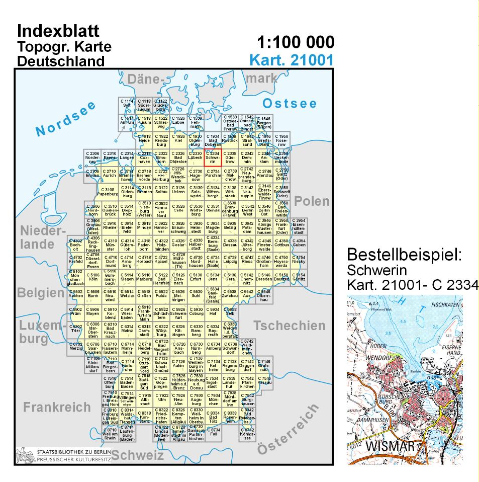 Topographische Karte Nrw.Topo List Kartenabteilung Staatsbibliothek Zu Berlin
