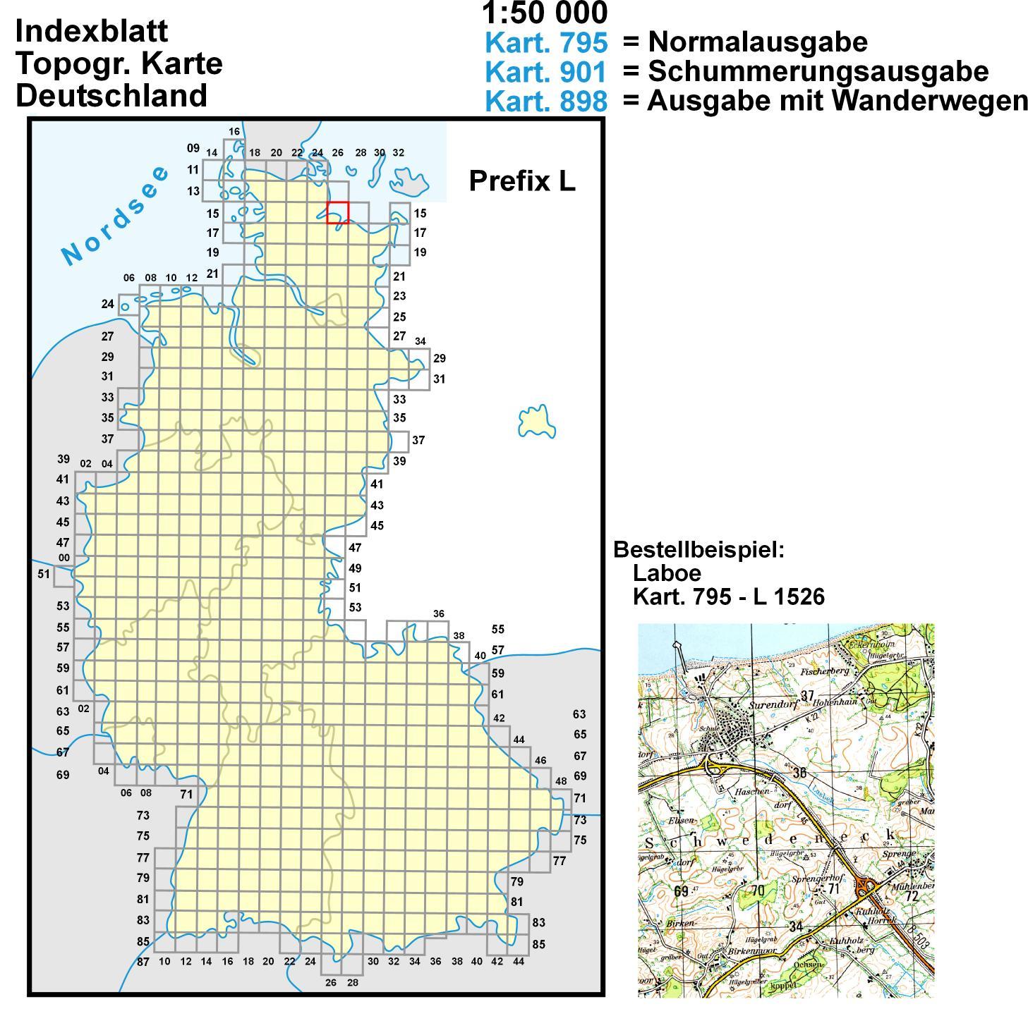 topographischer überblick deutschland